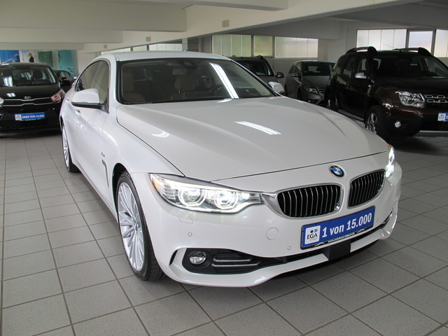 BMW 440 Gran Coupé19 Zoll*Leder Sattelbraun*Adaptives Fahrwerk*, Jahr 2016, petrol