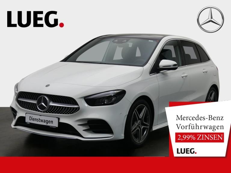 Mercedes-Benz B 200 AMG+PANO+NAV-PREM+LED+KAMERA+DKL.GLAS+PTS., Jahr 2020, Benzin
