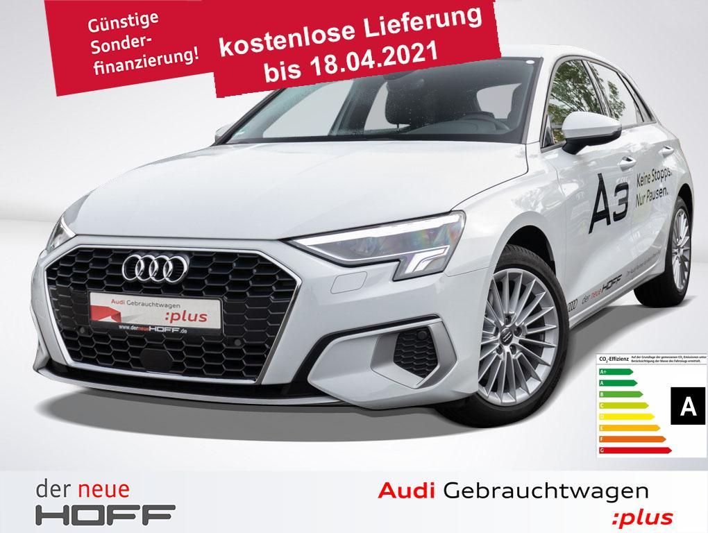 Audi A3 Sportback advanced 35 TFSI LED 17Zoll APS hin, Jahr 2020, Benzin