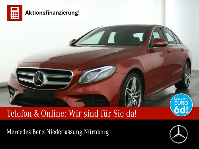 Mercedes-Benz E 450 4M AMG Fahrass.Wide.SHD.Multi.COMAND.360°, Jahr 2020, Benzin
