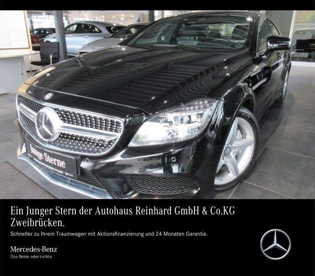 Mercedes-Benz CLS 500 AMG Line+Comand+Distronic+9G+Airmatic, Jahr 2015, petrol