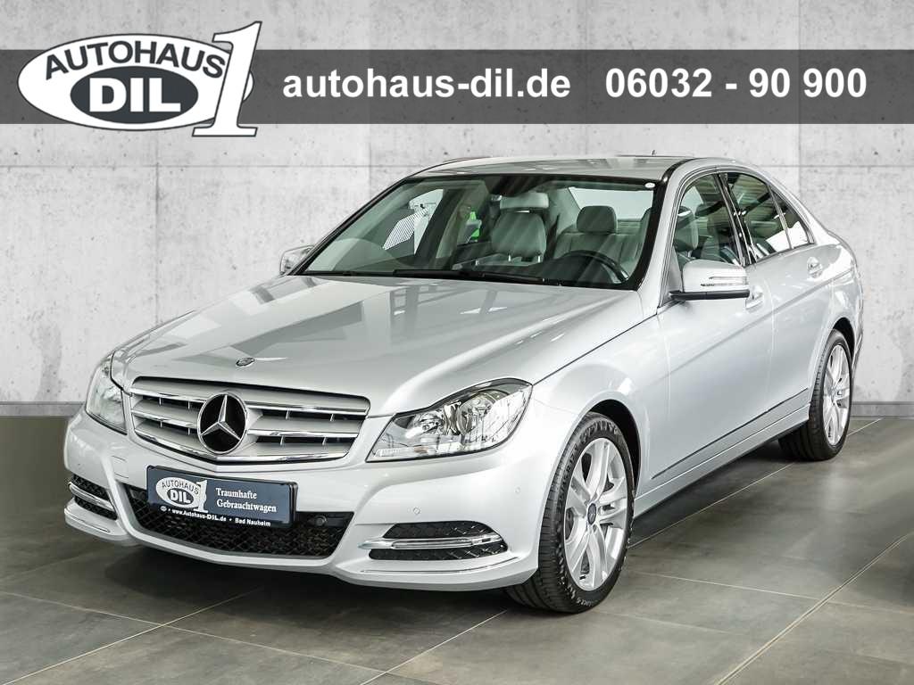 Mercedes-Benz C 250 BE 7G-TRONIC Navi+PTS+Spiegel-P., Jahr 2013, Benzin