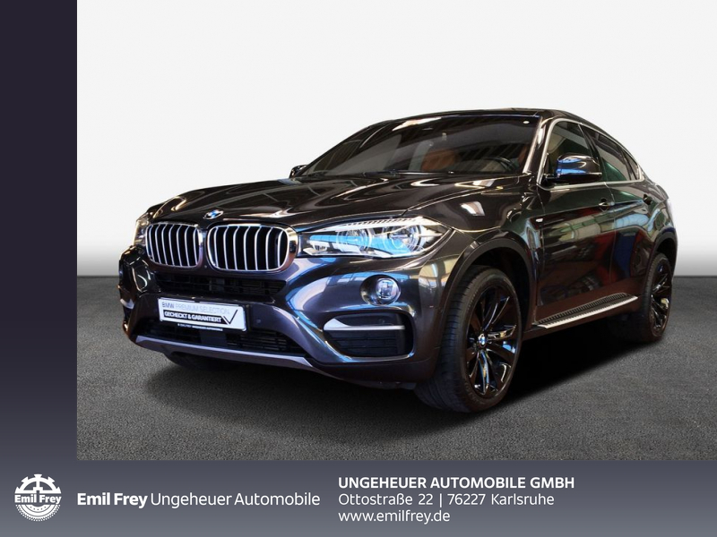 BMW X6 xDrive40d Night Vision Head-Up HK HiFi DAB, Jahr 2016, Diesel
