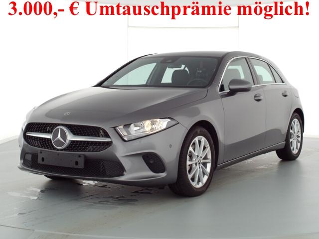 Mercedes-Benz A 200 Progressive+7G-DCT+Navi-Premium+Business-Paket, Jahr 2019, Benzin