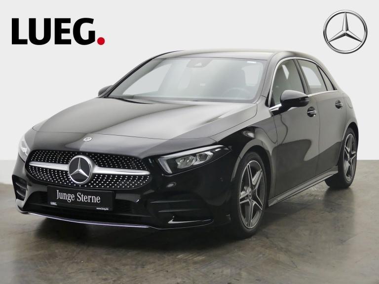 Mercedes-Benz A 250 AMG+MBUX+NavPr+LED-HP+Sound+Mem+ParkAssist, Jahr 2018, Benzin
