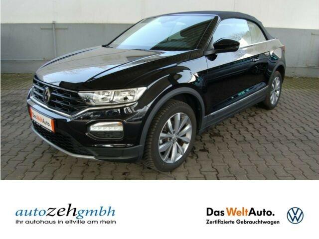 Volkswagen T-Roc Cabrio Style 1.0 TSI App-Conect+Sitzh.+ACC, Jahr 2020, Benzin
