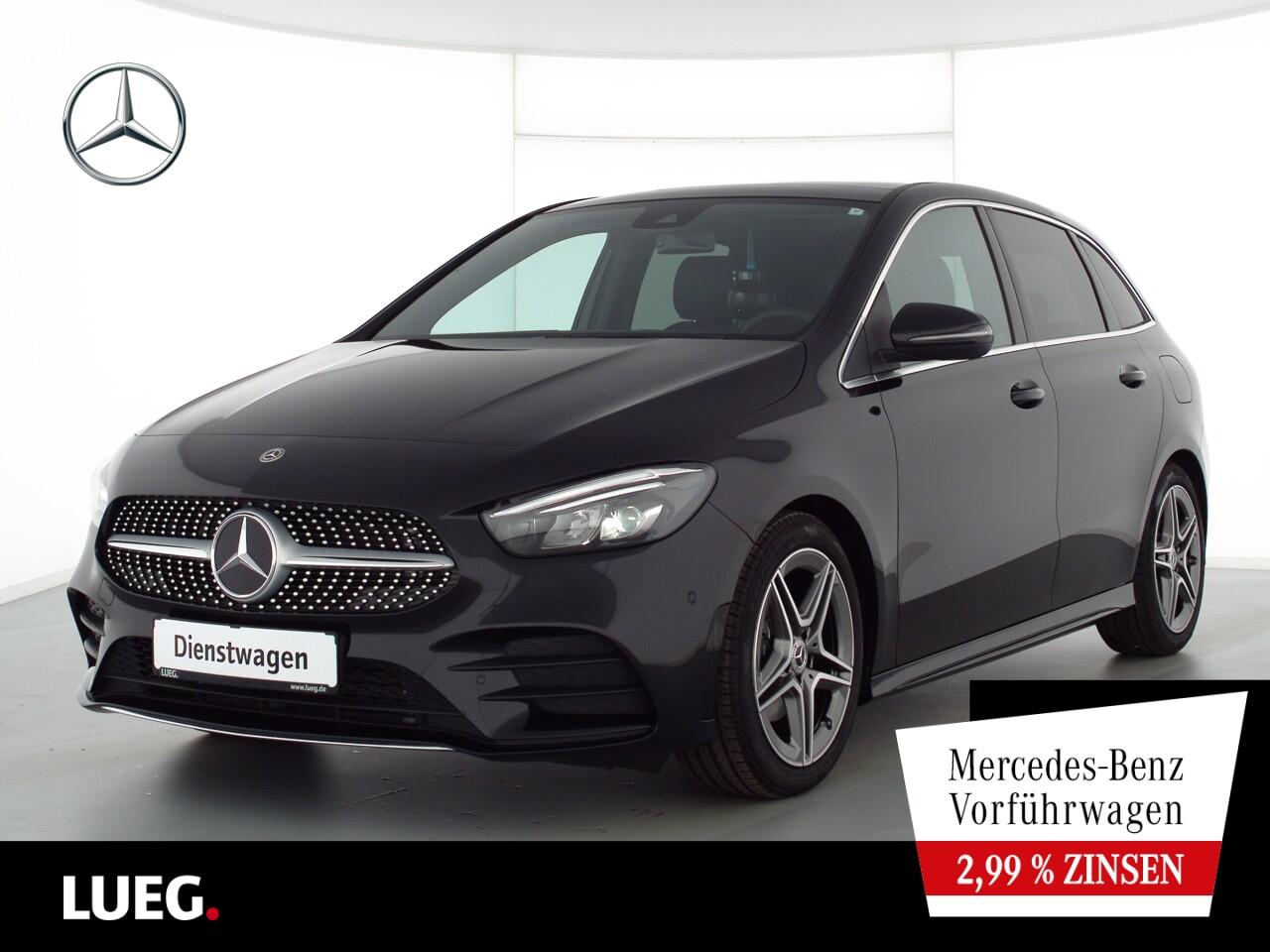 Mercedes-Benz B 200 AMG+PANO+TOTW+SOUND+KAMERA+NAVI-PREM+LED, Jahr 2021, Benzin