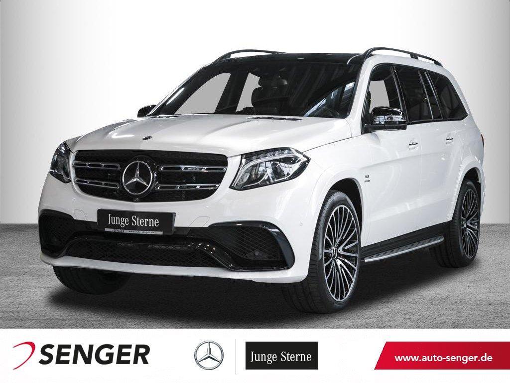 Mercedes-Benz GLS 63 4M AMG *Pano*Airmatic*Standheizung*360°*, Jahr 2018, Benzin