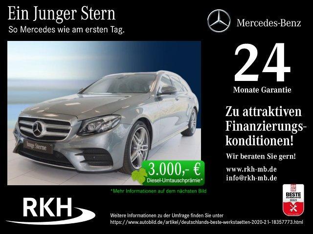Mercedes-Benz E 450 T 4M AMG Line COMAND/Pano/360°/Distr/LED, Jahr 2020, Benzin