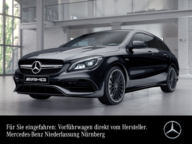 Mercedes-Benz CLA 45 4MATIC Shooting Brake Sportpaket Bluetooth, Jahr 2020, Benzin