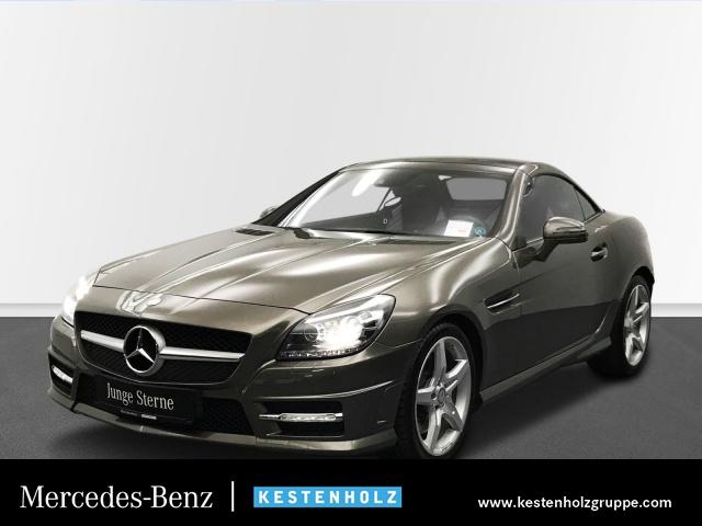 Mercedes-Benz SLK 250 AMG+HARMAN+ILS+AIRSCARF+NAVI+PTS+SITZHZG, Jahr 2014, Benzin
