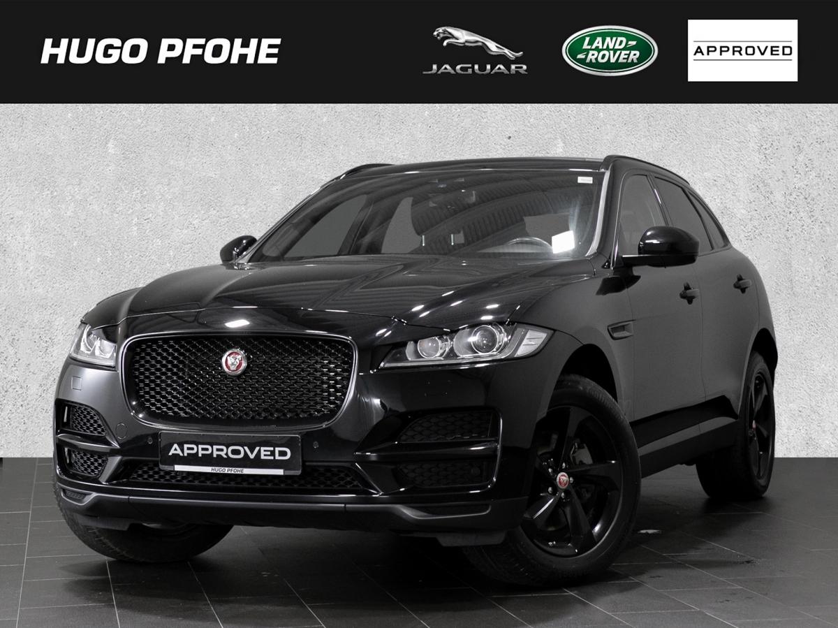 Jaguar F-PACE Pure 30d AWD. Black-Pack.Pano.19 Zoll, Jahr 2016, Diesel
