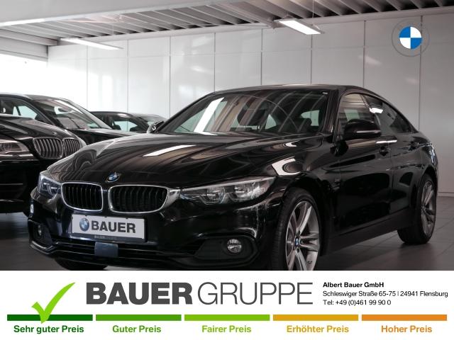 BMW 430 Gran Coupe d xDrive Sport Line Navi Prof AHK HiFi ACC LED, Jahr 2018, Diesel