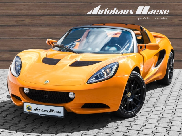 Lotus Elise Sport 220 *Orange Metallic* Garantie*1.Hand, Jahr 2016, Benzin