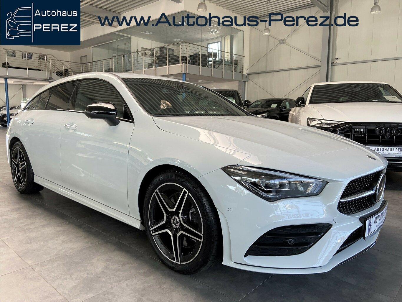 Mercedes-Benz CLA 250 Shooting Brake AMG DISTRONIC-KEYLESS-AHK, Jahr 2020, Benzin