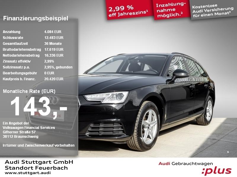 Audi A4 Avant 2.0 TDI Xenon Navi Keyless virtCockpit, Jahr 2017, Diesel