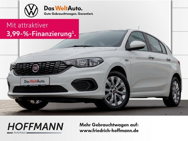"""Fiat Tipo 1,4l 16V POP Klima ALU 16"""" PDC Tempomat, Jahr 2016, petrol"""