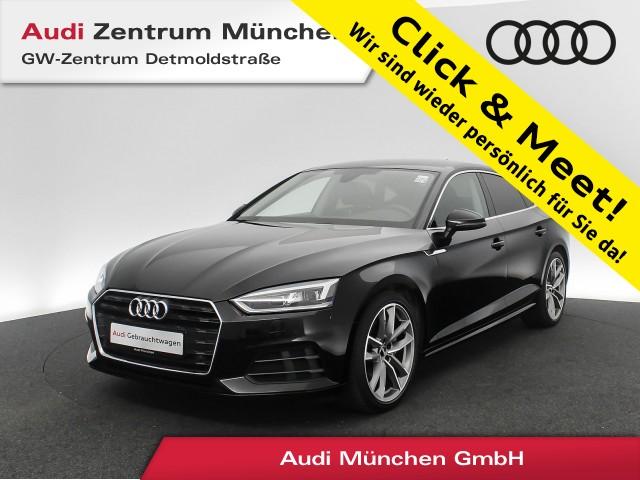 Audi A5 Sportback 2.0 TDI AHK LED Navi Leder el.Sitze R-Kamera 6-Gang, Jahr 2018, Diesel