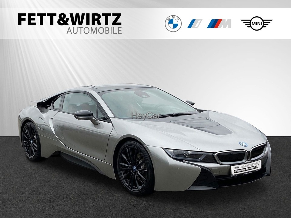 BMW i8 Coupe 20'' HUD H/K Leas. ab 1.139,- br.o.Anz., Jahr 2019, Hybrid