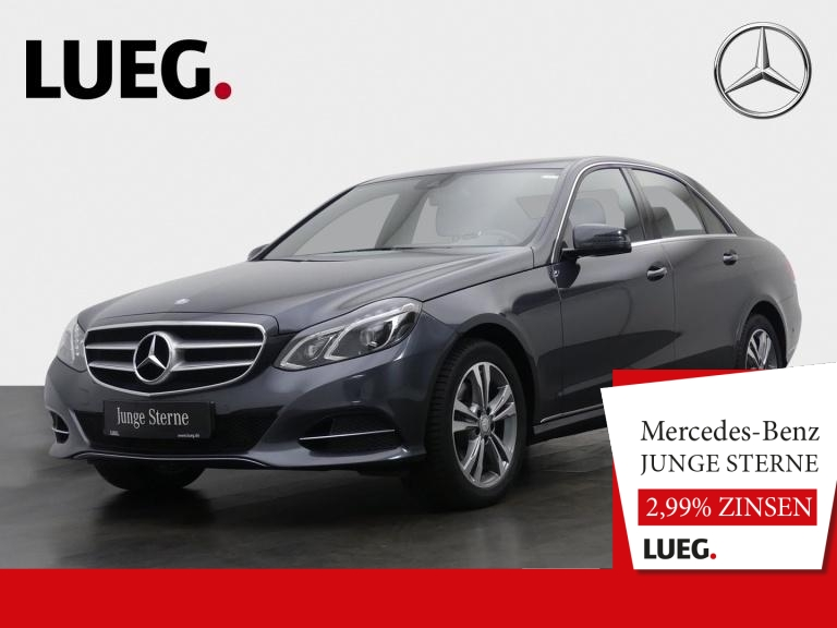 Mercedes-Benz E 300 BT Avantgarde+COM+SHD+Burm+LED-ILS+SpurP++, Jahr 2016, Diesel