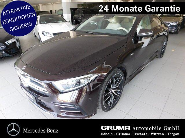 Mercedes-Benz CLS 53 4M+ STANDHZG+HEAD-UP+MEMORY+CARBON+BURMES, Jahr 2018, Benzin