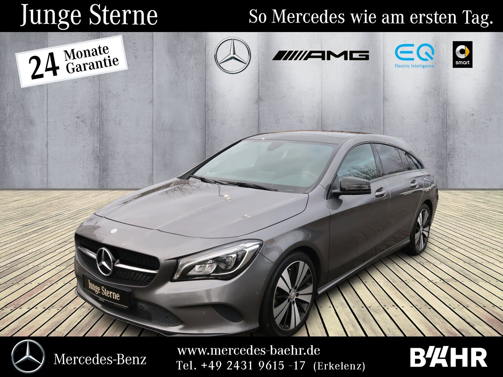 Mercedes-Benz CLA 250 SB Urban+Night/LED/Panorama/AHK/RFK/Park, Jahr 2016, Benzin