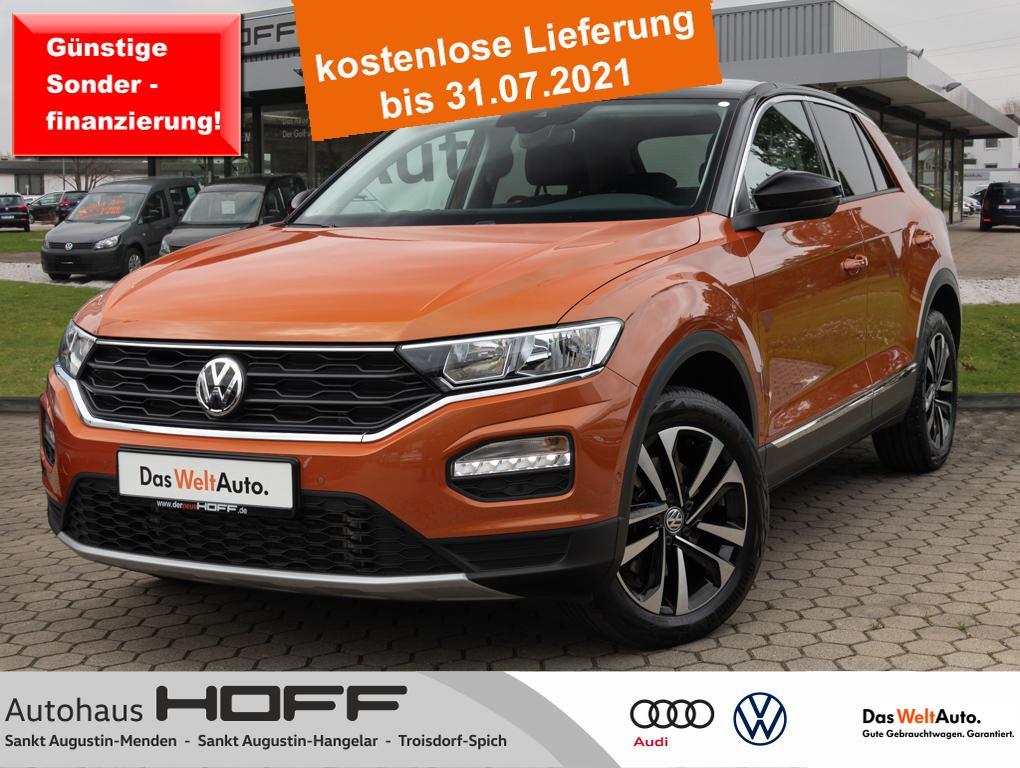 Volkswagen T-Roc 2.0 TDI DSG IQ.DRIVE Navi Bluetooth Anschl, Jahr 2020, Diesel