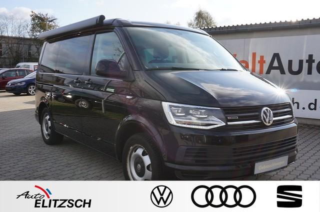 Volkswagen T6 California 2.0 TDI Beach 4-Motion DSG 5-Sitze Wasserzusatzhzg Markise AHK, Jahr 2016, Diesel