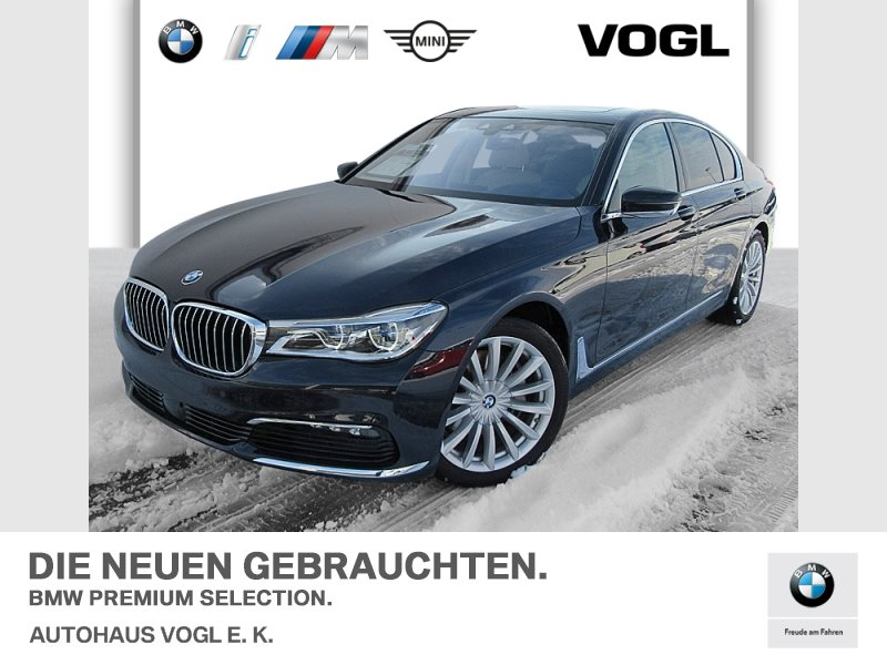 BMW 730d xDrive Limousine Touch Command Head-Up DAB, Jahr 2017, Diesel
