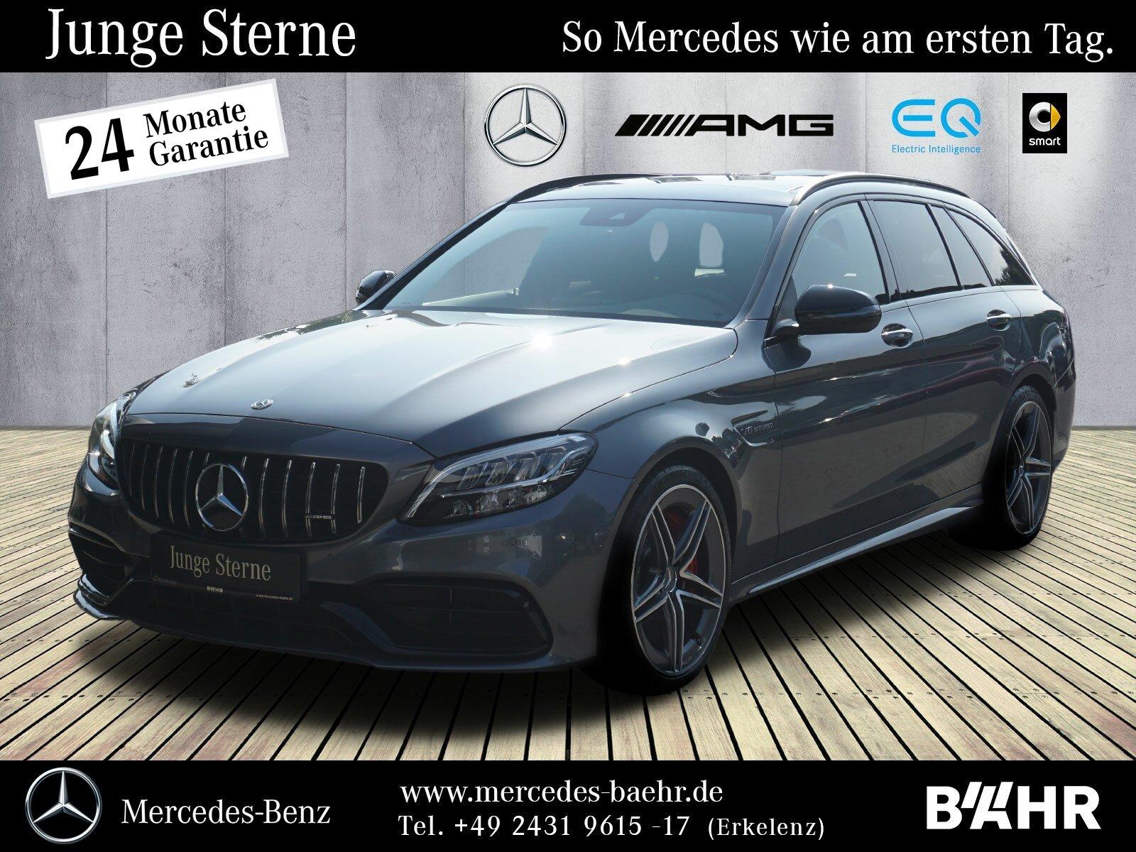 Mercedes-Benz C 63 S T Navi/LED/Pano/Driver'sPackage/Burmester, Jahr 2019, Benzin