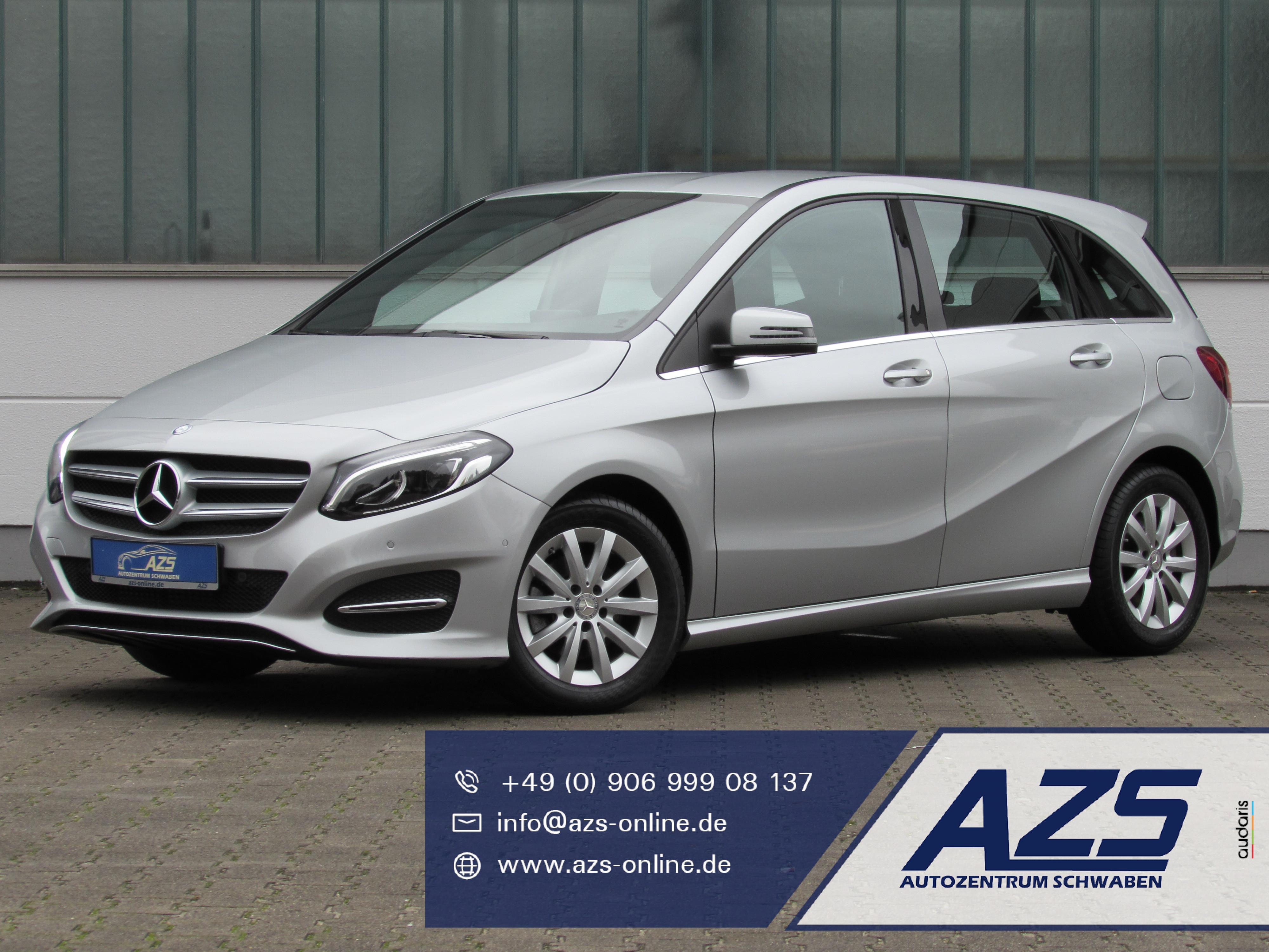 Mercedes-Benz B 220 | 4-Matic | Full-LED | 2x PDC | SHZ | Alu, Jahr 2015, Benzin