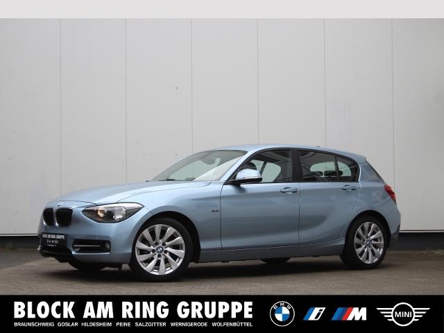 BMW 118i 5-Türer Sport Line LMR Sportsitz SH, Jahr 2014, Benzin