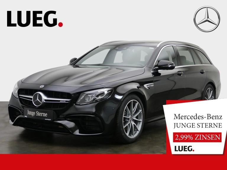 Mercedes-Benz E 63 AMG T 4M+ COM+Pano+Mbeam+DistrP+Widesc+360°, Jahr 2019, Benzin