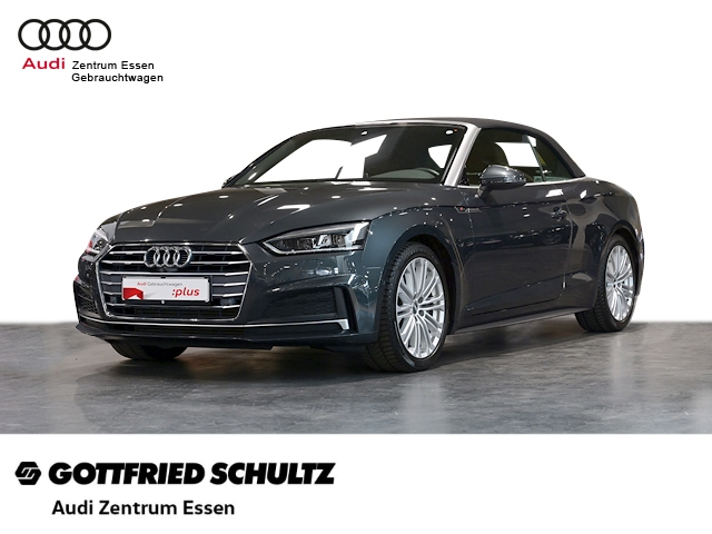 Audi A5 Cabriolet sport 2.0 TFSI S tronic LED NAV RÜFAHR SHZ PDC VO HI FSE MUFU, Jahr 2018, Benzin