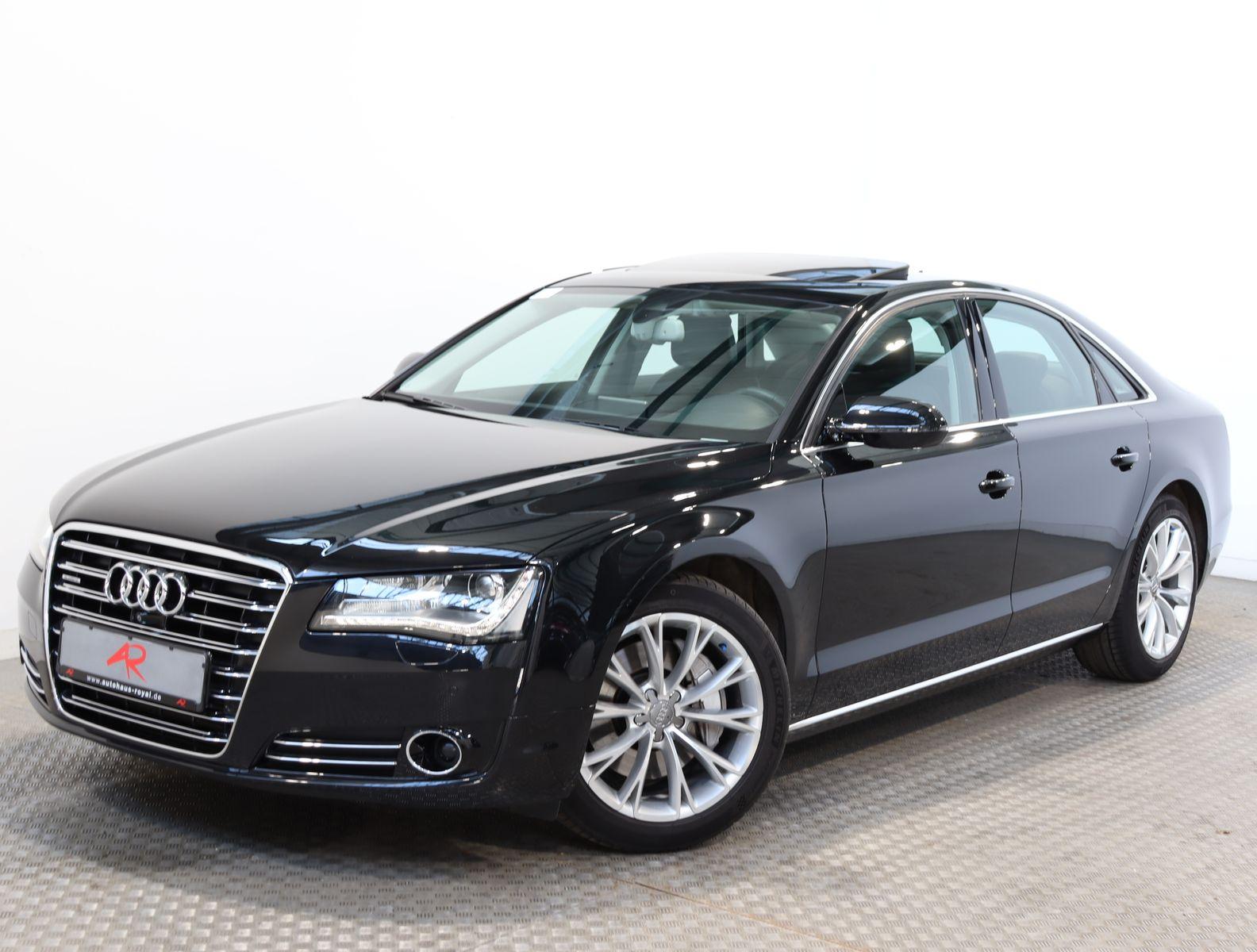 Audi A8 3.0 TDI qu ACC,360GRAD,KEYLESS,STANDHEIZUNG, Jahr 2013, Diesel