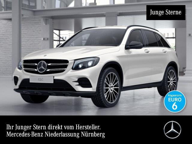 Mercedes-Benz GLC 350 d 4M AMG Fahrass Stdhzg Distr. COMAND AHK, Jahr 2017, Diesel