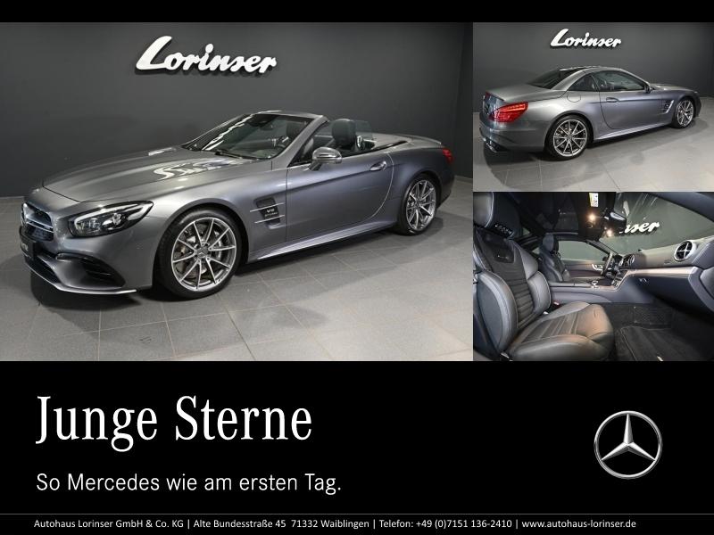Mercedes-Benz SL 63 AMG AMG/PANO/SITZKLIMA/DISTRONIC/COMAND/TV, Jahr 2018, Benzin