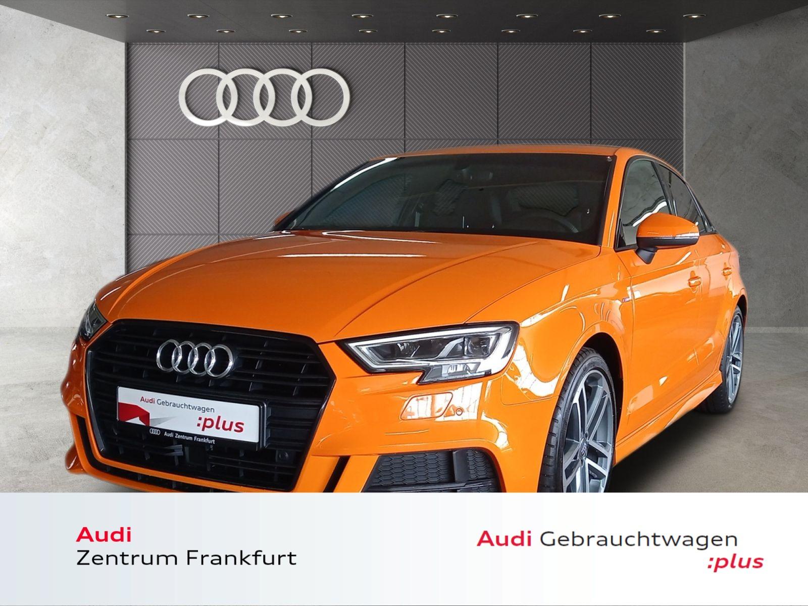 Audi A3 Limousine 1.5 TFSI sport S line LED Navi VC Tempomat, Jahr 2018, Benzin