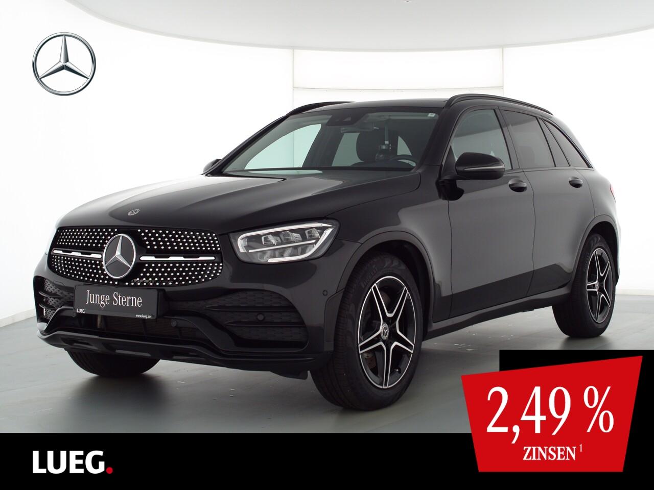 Mercedes-Benz GLC 220 d 4M AMG+MBUX+Pano+LED-HP+19''+SpurPk+RF, Jahr 2020, Diesel