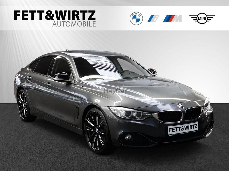 BMW 430d Gran Coupe Sport Line Aut. Navi PDC SHZ, Jahr 2015, Diesel