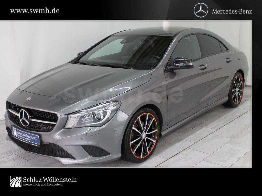 Mercedes-Benz CLA 220 d Coupé Urban Night-Pkt/COMAND/ILS/Alarm, Jahr 2016, diesel