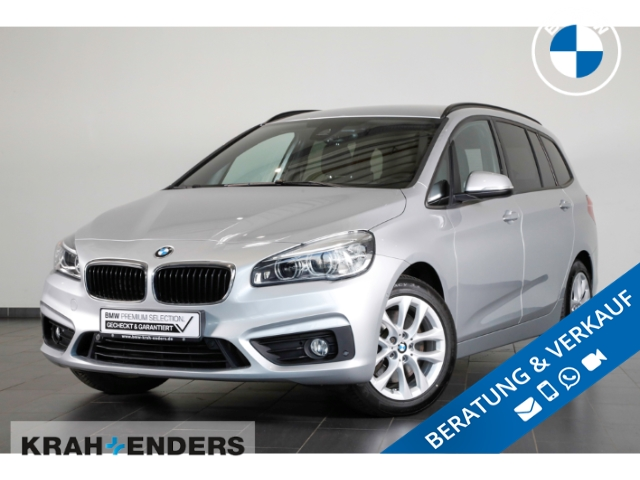 BMW 220 Gran Tourer d HUD+LED+Navi+AHK-abnehmbar, Jahr 2018, Diesel