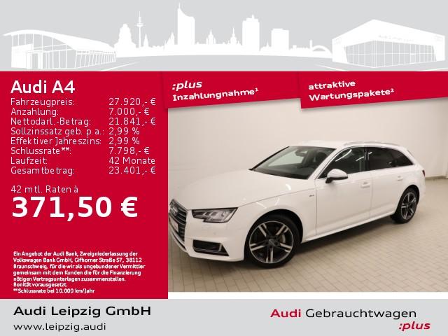 Audi A4 Avant 2.0 TDI sport quattro *S line*Matrix*, Jahr 2017, Diesel