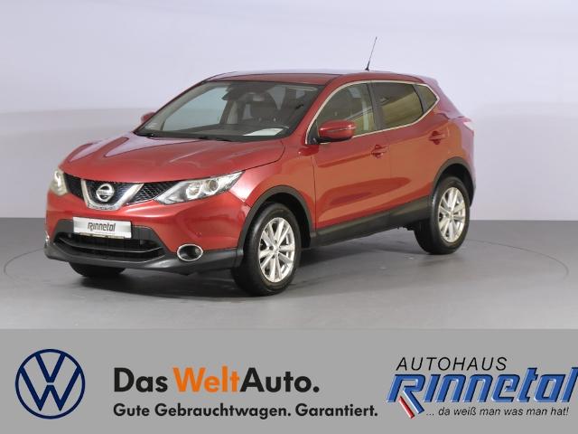Nissan Qashqai 1.2 DIG-T Acenta 4x2 NAVI+KLIMAAUT+SITZH, Jahr 2015, Benzin