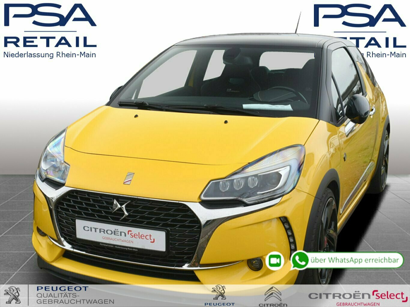 DS Automobiles DS3 THP 208 PERFORMANCE, Jahr 2017, Benzin