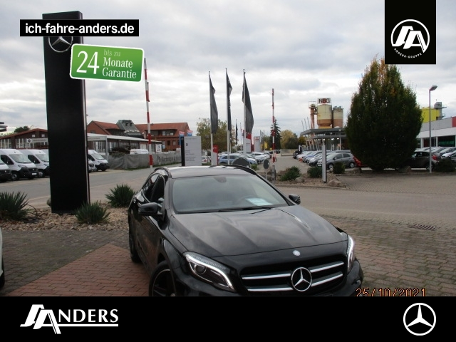 Mercedes-Benz GLA 250 AMG+Bi-Xenon+Night+Navi+SHZ+PDC+Tempomat, Jahr 2015, Benzin