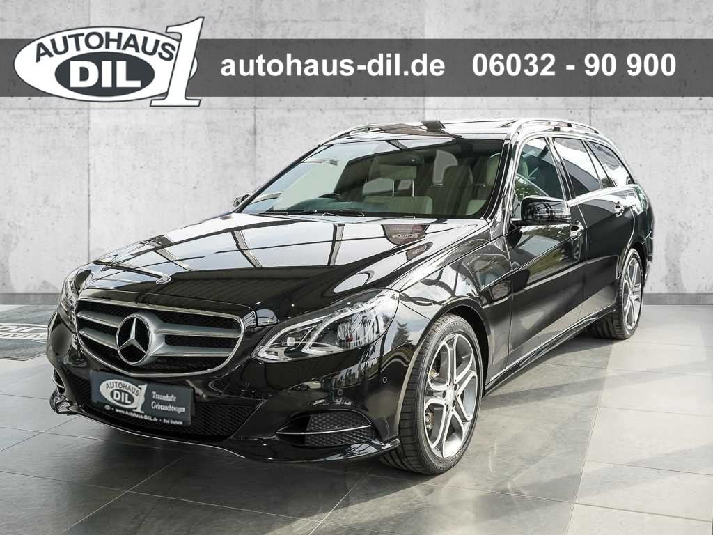 Mercedes-Benz E 250 T AVA 7G-TR Sportpaket+COM+LED+AHK+St.heiz, Jahr 2014, Benzin