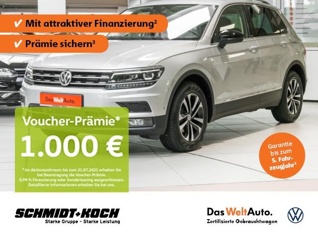 Volkswagen Tiguan 1.5 TSI BMT OPF IQ.DRIVE DSG, LED, AHK, Jahr 2020, Benzin