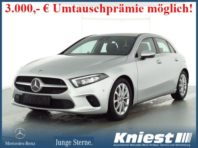 Mercedes-Benz A 180 Progressive+7G-DCT+LED+Navi-Prem.+DAB+PTC, Jahr 2020, Benzin
