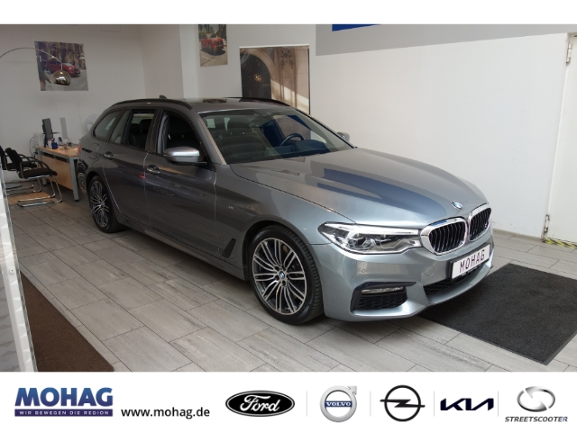 BMW 540 i xDrive M Sport Touring Park-Assistent Leder LED Navi Keyless e-Sitze HUD ACC Parklenkass., Jahr 2017, Benzin